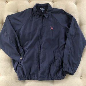Vtg 90s Polo Ralph Lauren Golf Harrington Jacket M